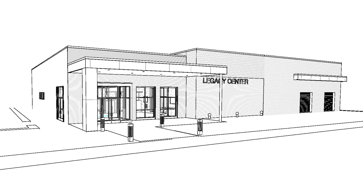 """Featured image for """"Legacy Center, Phase 1A"""""""