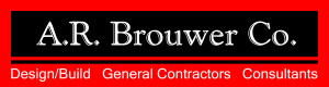 A. R. Brouwer Commercial Builders Logo