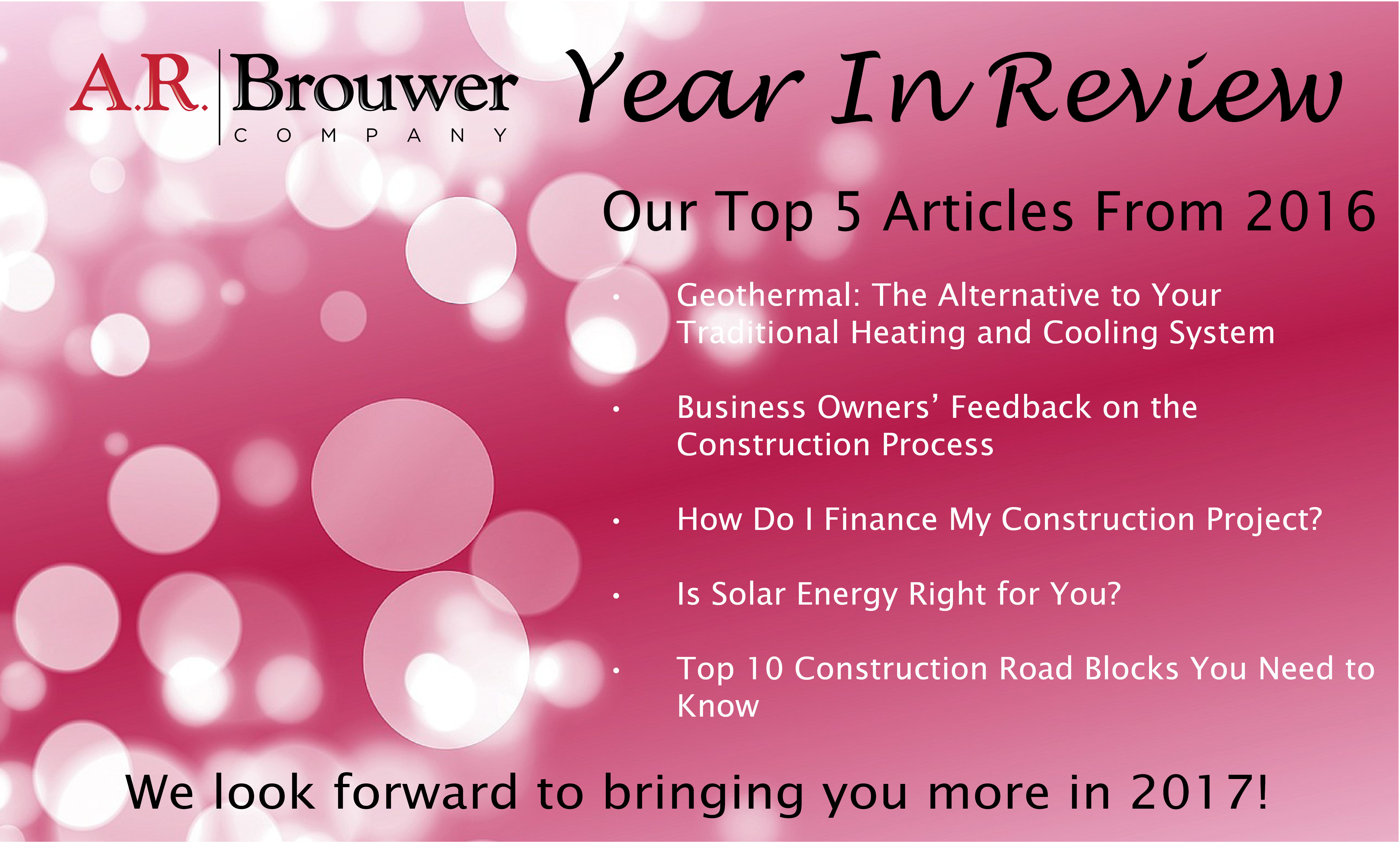 Construction Year In Review