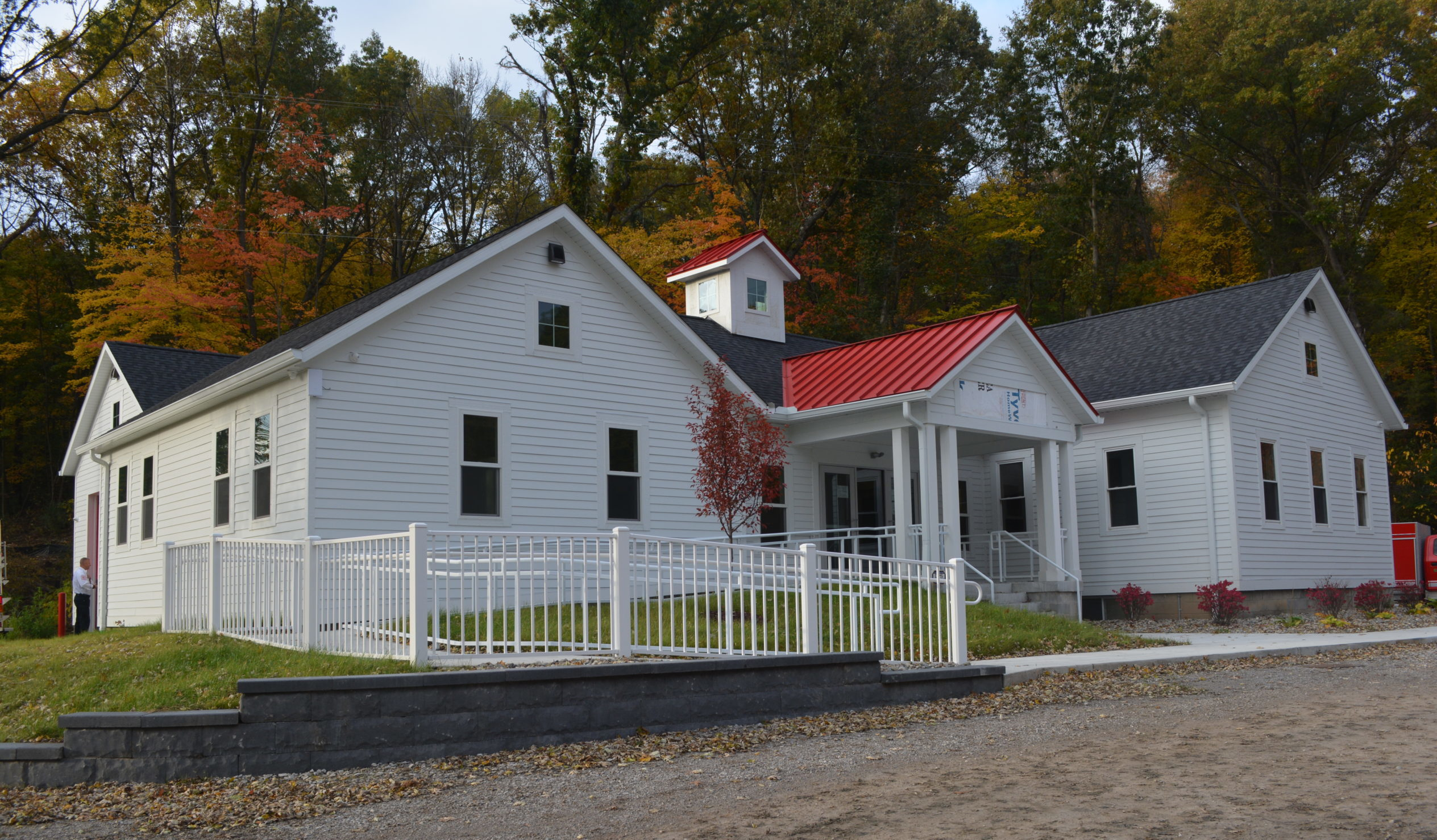 """Featured image for """"Lyndon Township Hall"""""""